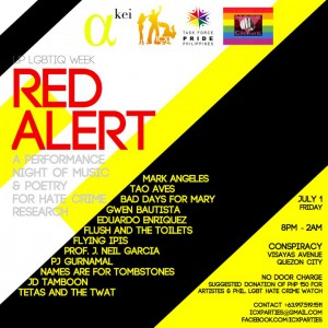 Red Alert: Performance Night for Hate Crime Research